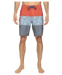 Quiksilver Waterman | Fairway Tri Block Boardshorts Dark Slate Swimwear