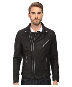 Goosecraft | Sheep Skin Drum Biker Jacket Mens Coat