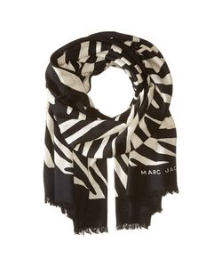Marc Jacobs | Zebra Stole Off Multi Scarves