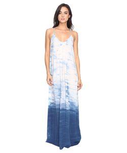 Michael Stars | Haze Wash Modern Rayon Maxi Slip Dress Cosmic