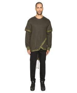 D.Gnak | Layered Fish Tail Pullover Sweatshirt