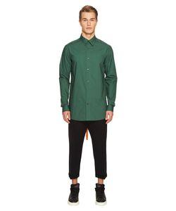 D.Gnak | Back Tape Shirt Mens Clothing