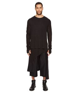 D.Gnak | Asymmetric Hem Pullover Mens Clothing