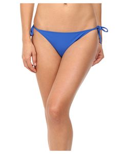 Stella McCartney | Timeless Basics Tie Side Bikini Bottom Royal
