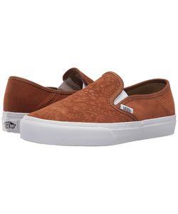 Vans   Slip-On Sf Suede Monks Robe/Flora Skate Shoes