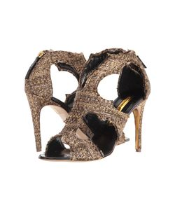 Rupert Sanderson | Estelle Dusty Tweed Glitz High Heels