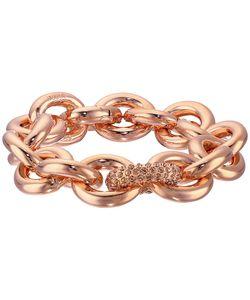 Eddie Borgo | One Pav Link Chain Bracelet Shiny Plated Brass/Pav