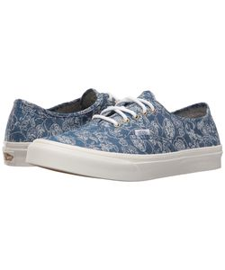 Vans | Authentic Slim Chambray Retro Athletic Shoes