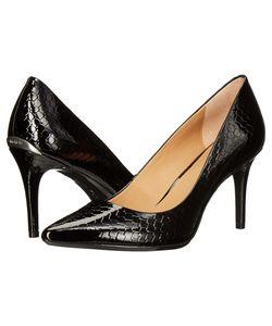Calvin Klein | Gayle Python Print Patent High Heels