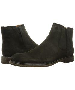 John Varvatos | Sid Crepe Chelsea Charcoal Pull-On Boots