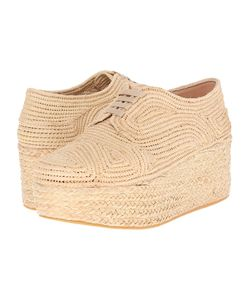 Robert Clergerie | Pinto Natural Rafia Shoes