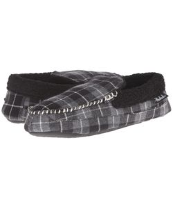 Woolrich | Camper Charcoal Plaid Slippers