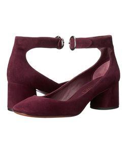 Marc Jacobs | Kerry Ankle Strap Pump Bordeaux High Heels
