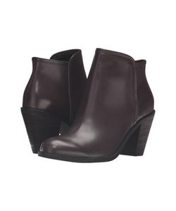 SoftWalk | Frontier Dark Smooth Leather Dress Boots