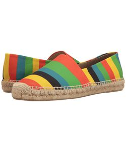Paul Smith | Sunny Color Stripe Espadrille Slip On
