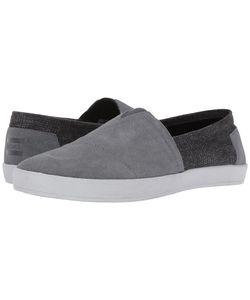 TOMS | Avalon Slip-On Castlerock Suede/Plaid Slip On Shoes