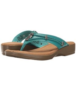 Minnetonka | Scandia Turquoise Leather Womens Shoes