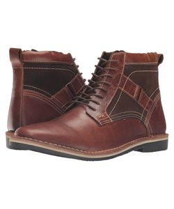 Steve Madden | Hethrow Wood Mens Lace-Up Boots