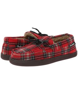 Woolrich | Lewisburg Chocolate Plaid 14 Slippers