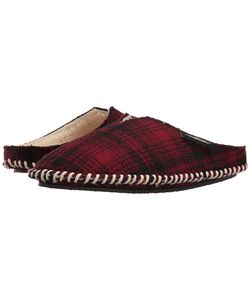 Woolrich | Wool Mill Scuff Hunting Plaid Wool Slippers
