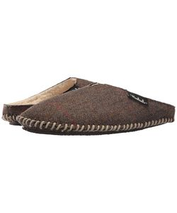 Woolrich | Wool Mill Scuff Tweed Wool Slippers