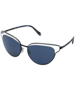 Oliver Peoples | Josa Clear/Navy Fashion Sunglasses