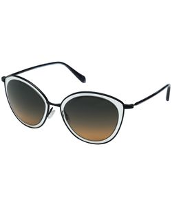 Oliver Peoples | Gwynne Navy/Sunset Gradient Flash Mirror Fashion Sunglasses