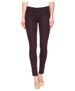 Hudson | Krista Ankle Super Skinny In Coated Violet Coated Violet