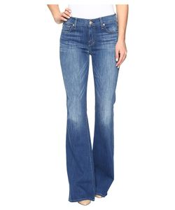 7 For All Mankind | Ali Flare In Newcastle Broken Twill