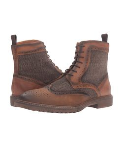 Steve Madden | Siftt Tan Multi Mens Lace-Up Boots