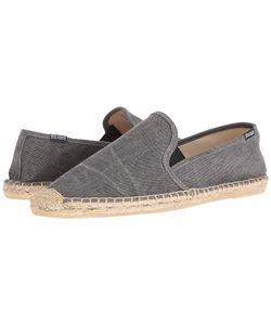 Soludos   Smoking Slipper W Gore Dark Flat Shoes