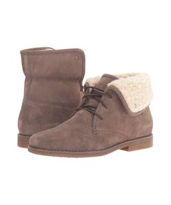 Hush Puppies | Marthe Cayto Gunsmoke Suede Womens Pull-On Boots