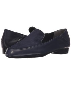 Robert Clergerie | Fani Navy Suede Shoes