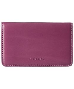 Lodis Accessories | Audrey Mini Card Case Beet/Iced Violet Credit Card