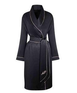 AGENT PROVOCATEUR | Classic Dressing Gown Black