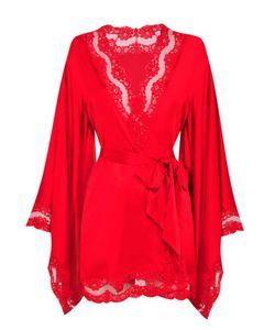 AGENT PROVOCATEUR | Luna Kimono Red