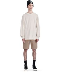 T by Alexander Wang | High Twist Mock Neck Long Sleeve