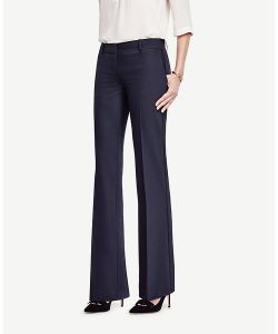 Ann Taylor | Devin Tropical Wool Trousers