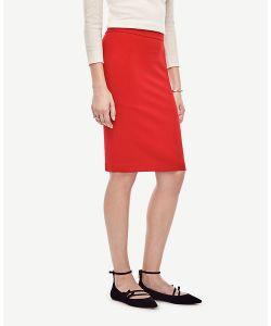 Ann Taylor | Seamed Crepe Pencil Skirt