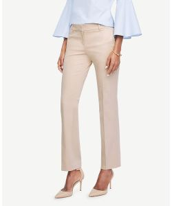 Ann Taylor | Kate Sateen Straight Leg Pants
