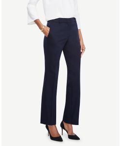 Ann Taylor | Ann Cotton Sateen Straight Leg Pants