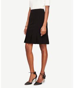 Ann Taylor | Petite Pressed Pleat Skirt