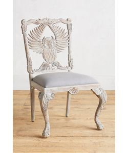 Anthropologie | Handcarved Menagerie Armchair