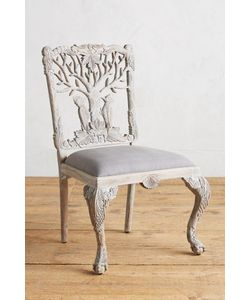Anthropologie | Handcarved Menagerie Woodpecker Dining Chair
