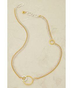 Anthropologie | Maya Magal Alyssa Hoop Necklace