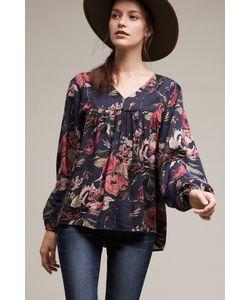 Anama   Calendula Floral Tunic Top