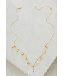 Anthropologie | Key Cosmos Charm Necklace