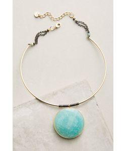 Anthropologie | Gemstone Wire Choker Necklace