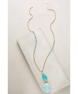 Anthropologie | Persephone Turquoise Necklace