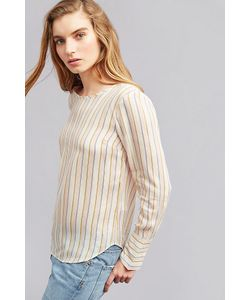 Second Female | Serena Striped Blouse Size